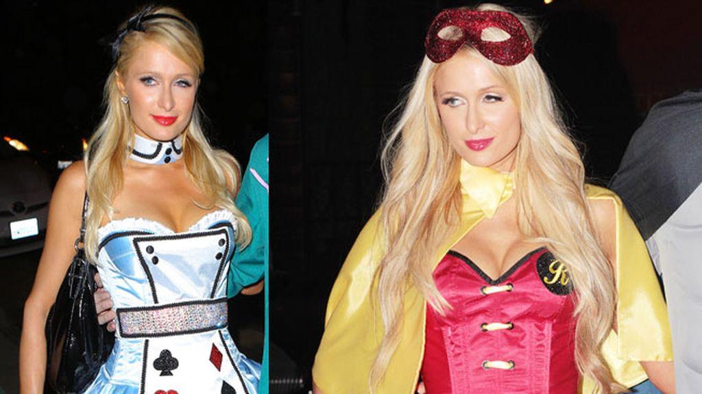 Paris Hilton y sus disfraces