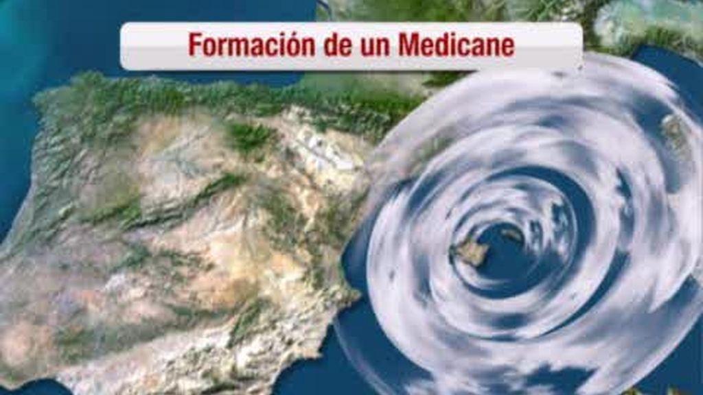 "El ""Medicane"" azota Valencia"