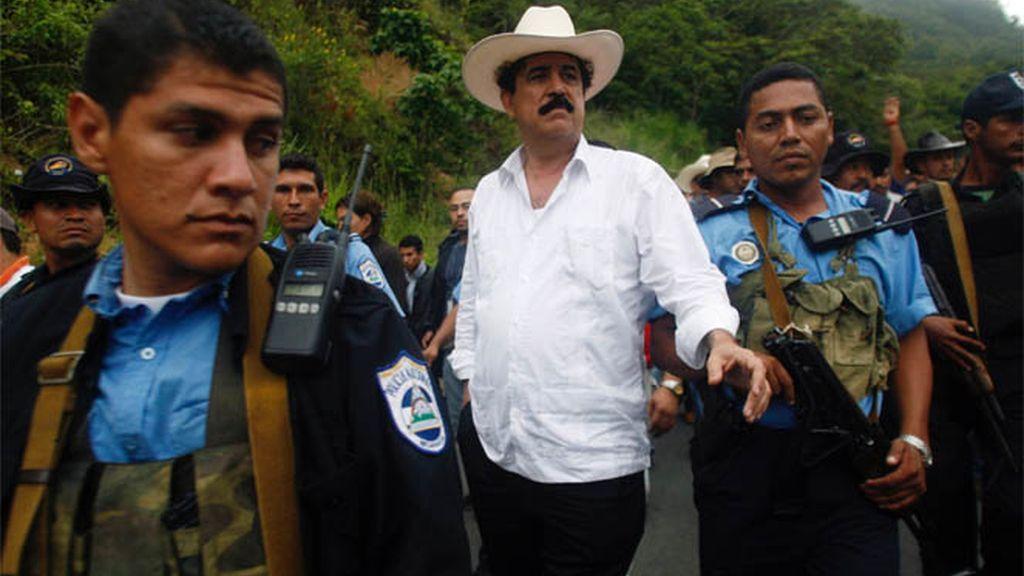 Zelaya en la frontera