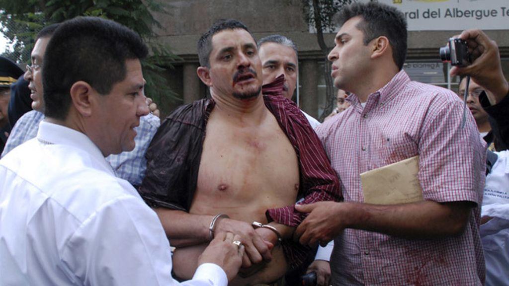 La Policía detuvo al autor del tiroteo en el metro de México D.F