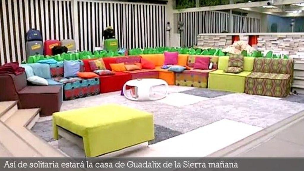 Así de solitaria estará la casa de Guadalix de la Sierra mañana