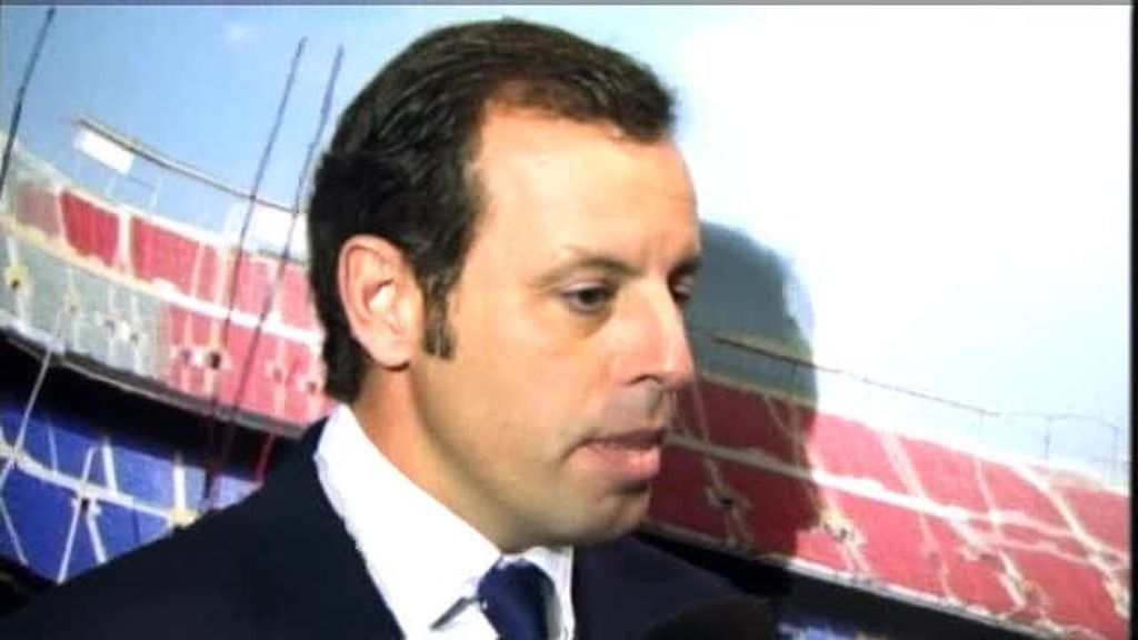 Sandro Rosell indignado por las acusaciones contra el Barcelona