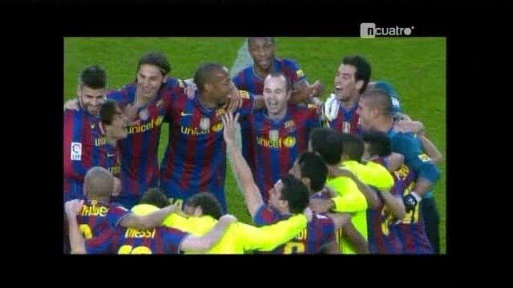 El F.C. Barcelona es campeón de liga