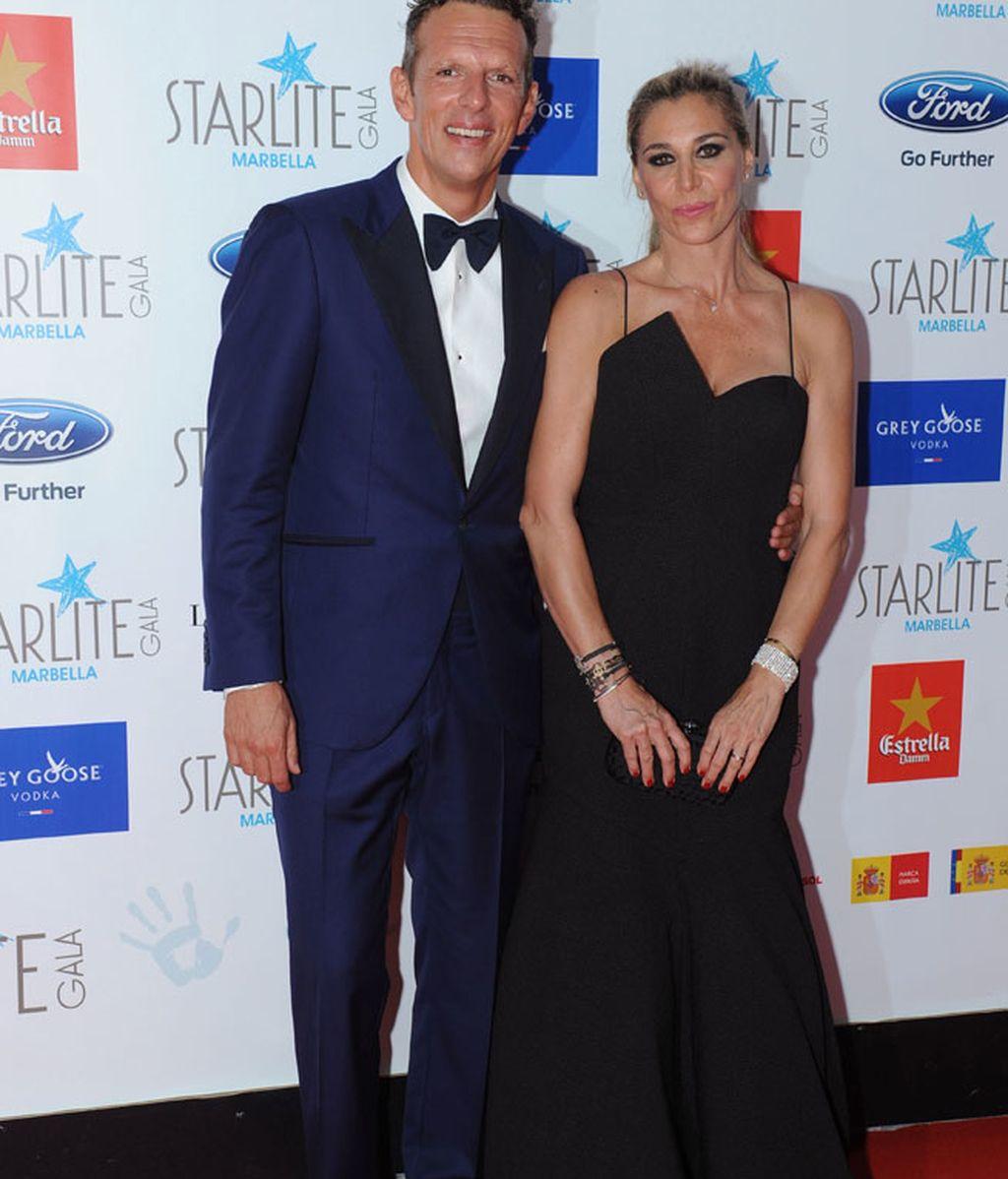 Joaquín Prats y su mujer, Yolanda Bravo