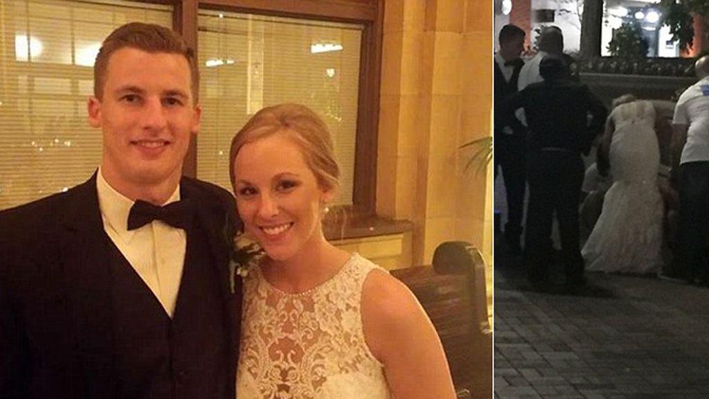 Durante una boda la novia tiene que hacer una reanimación a una invitada