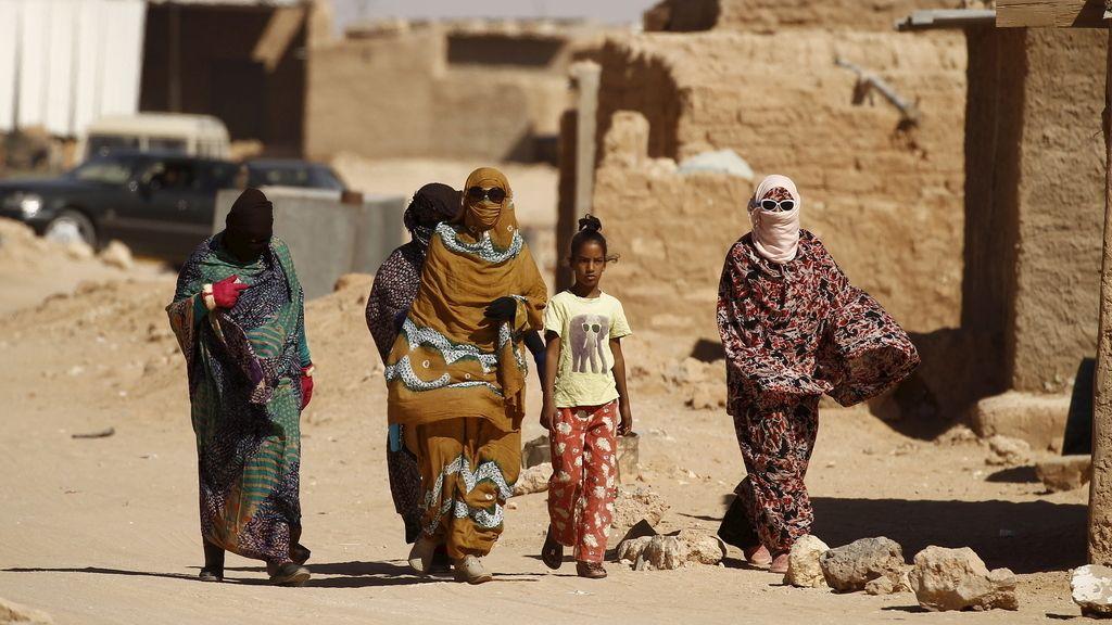 Refugiados saharauis en Tinduf