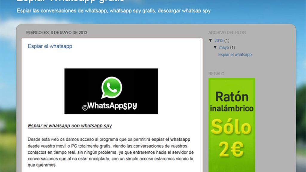 Estafa más de 40.000 euros con una falsa 'app' para espiar en el Whatsapp