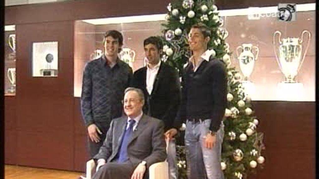El Real Madrid les desea Felices Fiestas