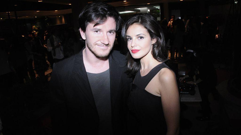 """Roger Gual y Marta Torné, que presentarán en el festival de Málaga su película """"Menú degustación"""""""