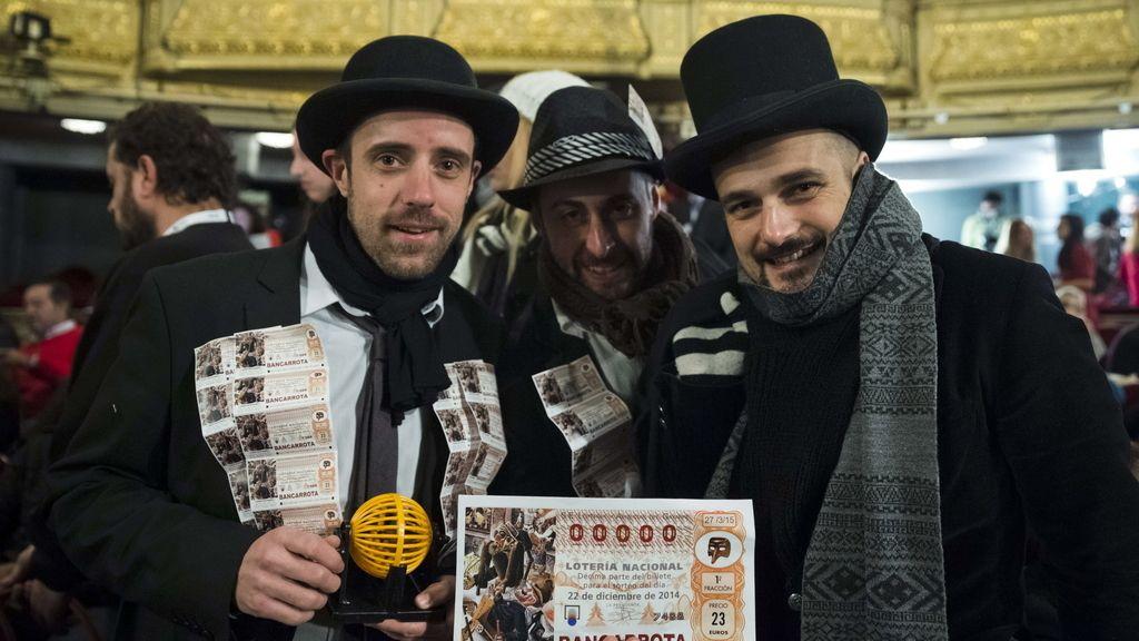 Asistentes al sorteo de la Lotería de Navidad