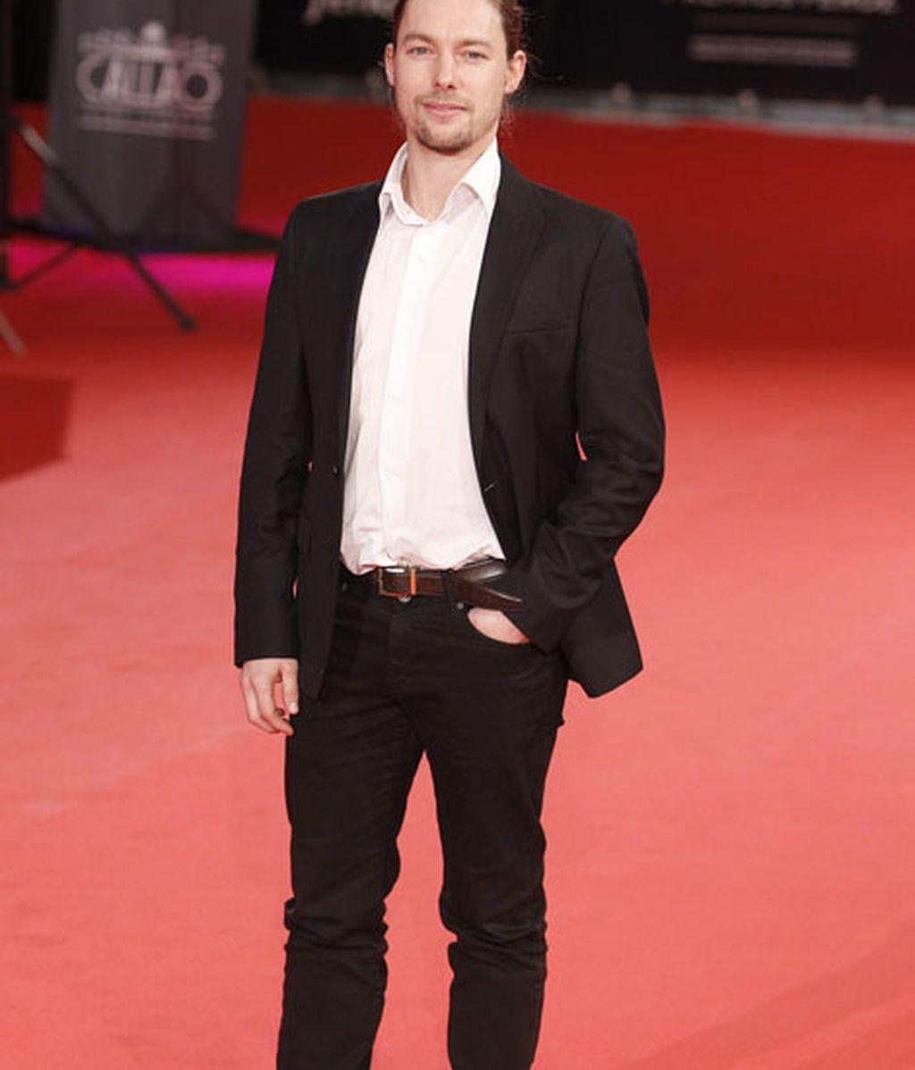 El actor Jan Cornett