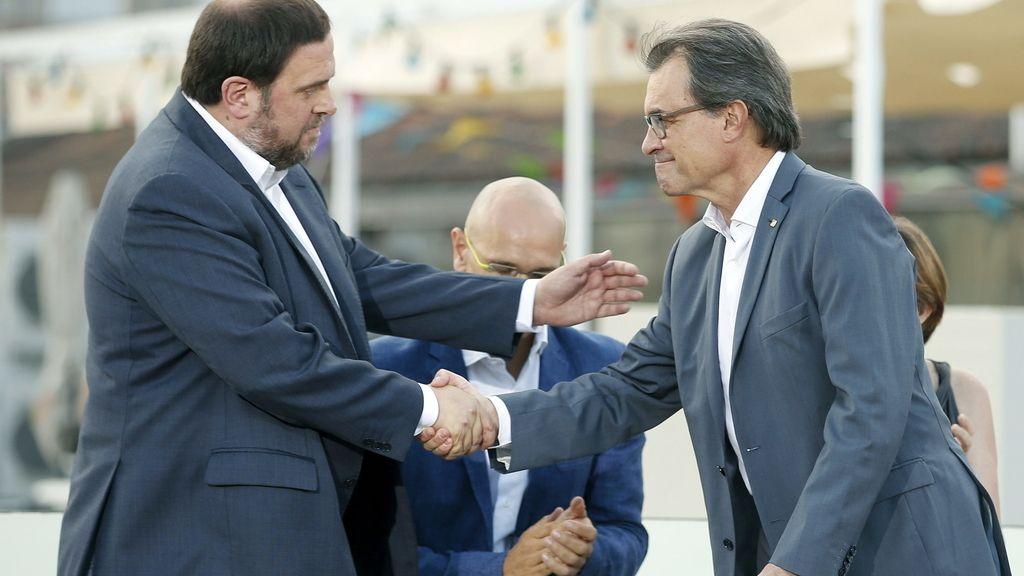 """Junqueras justifica el pacto con Mas alegando que el 27S está en juego """"todo"""""""