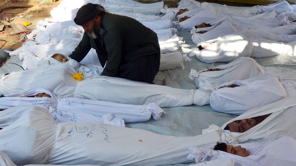 Ataque en Damasco, Siria. Foto: REUTERS