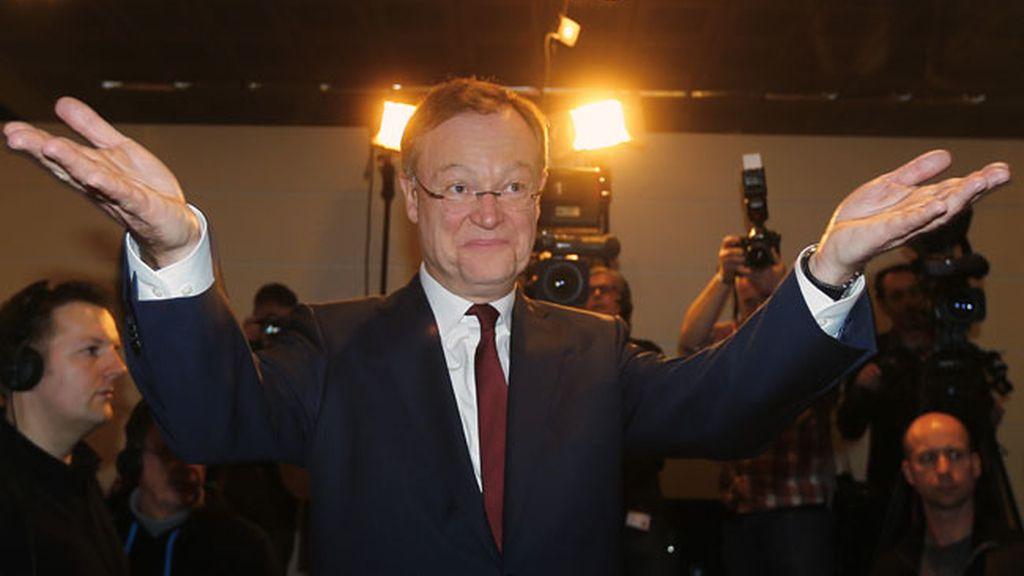 Stephan Weil celebra su triunfo electoral en Baja Sajonia