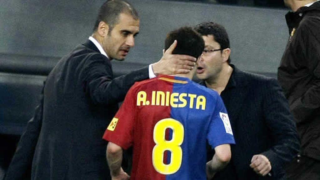 Iniesta se lesiona y se perderá la final de la Copa del Rey