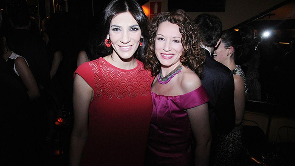 Cecilia Gessa y Eva Almaya