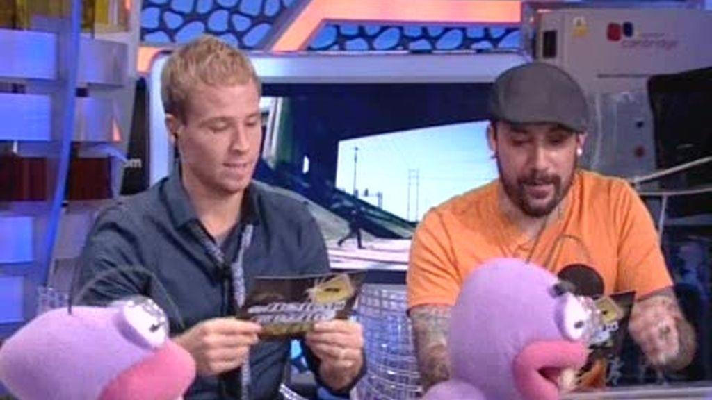 """Los Backstreet Boys cantan y bailan """"La barbacoa"""""""