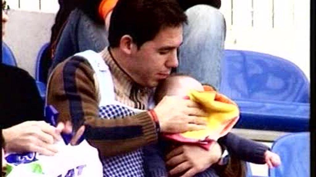 Papá, llévame al fútbol
