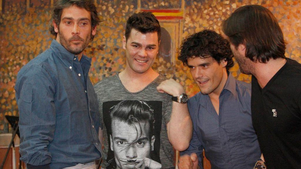 Fonsi Nieto estrena soltería junto a su gran amigo Miguel Abellán