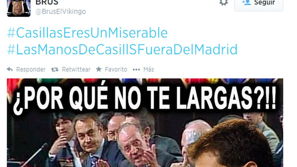 Grada twitter Casillas