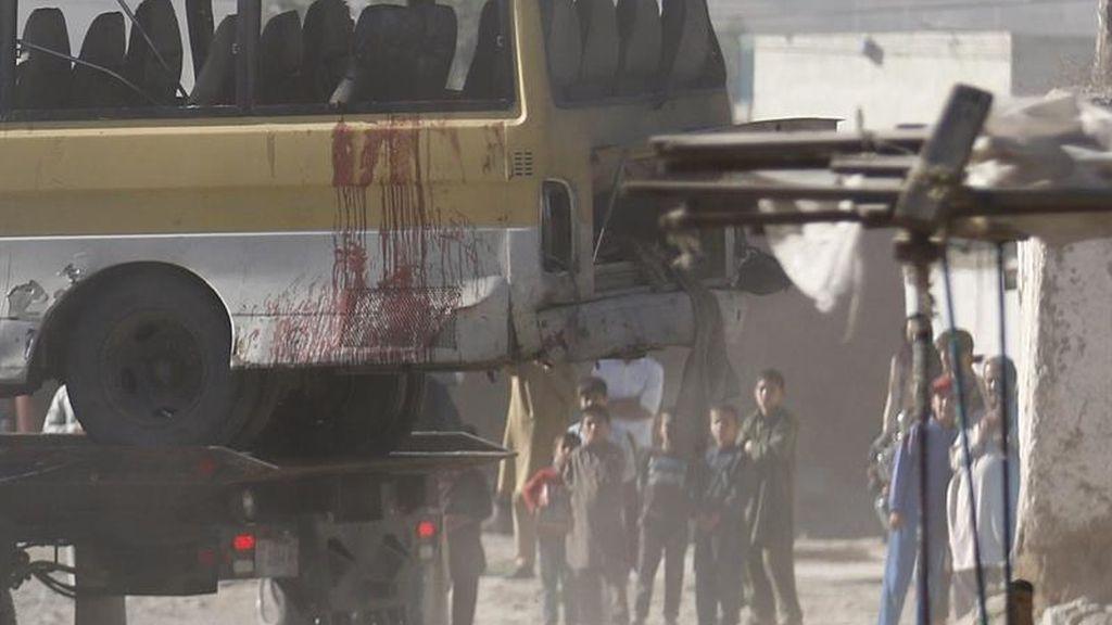 Atentado en un autobús en Afganistán