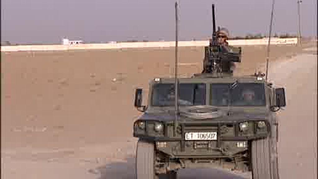 El despliegue de las tropas en Afganistán