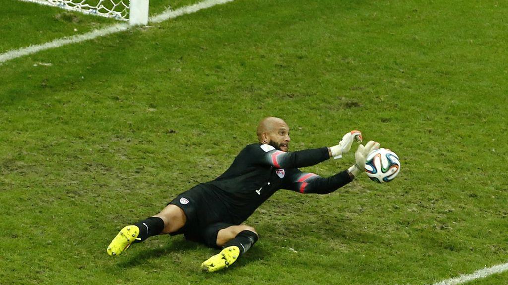 Howard fue el mejor del partido, al menos de los primeros 90 minutos