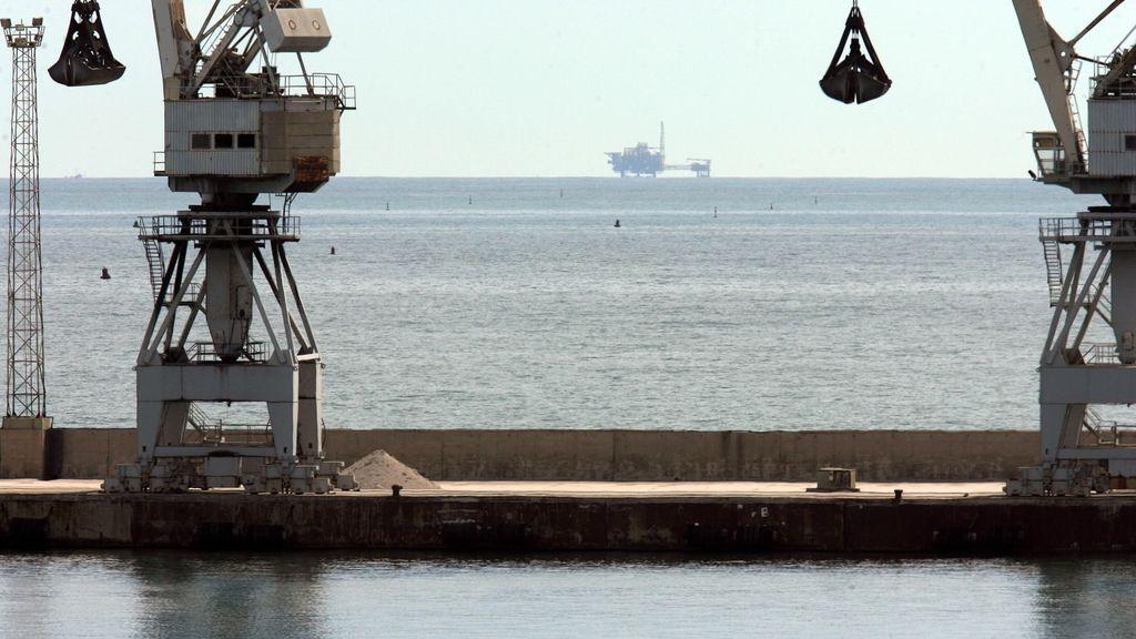 Plataforma ubicada en el Delta del Ebro para almacenar gas en el subsuelo marino cuyos trabajos han disparado la actividad sísmica