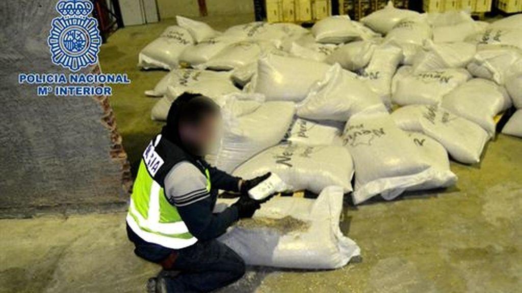 110 kilos de cocaína