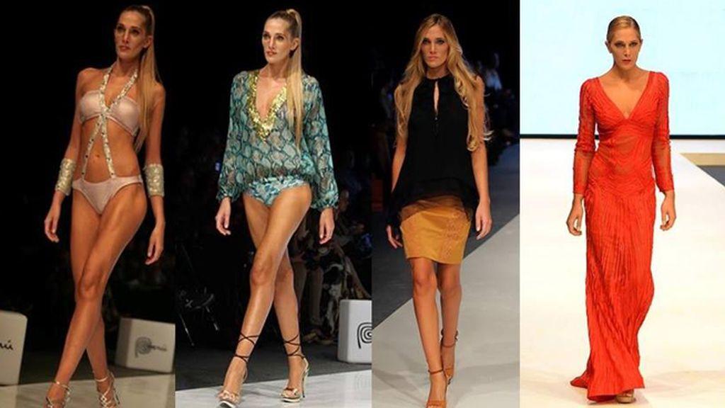 Julieta Mazzarini, modelo peruana de 25 años