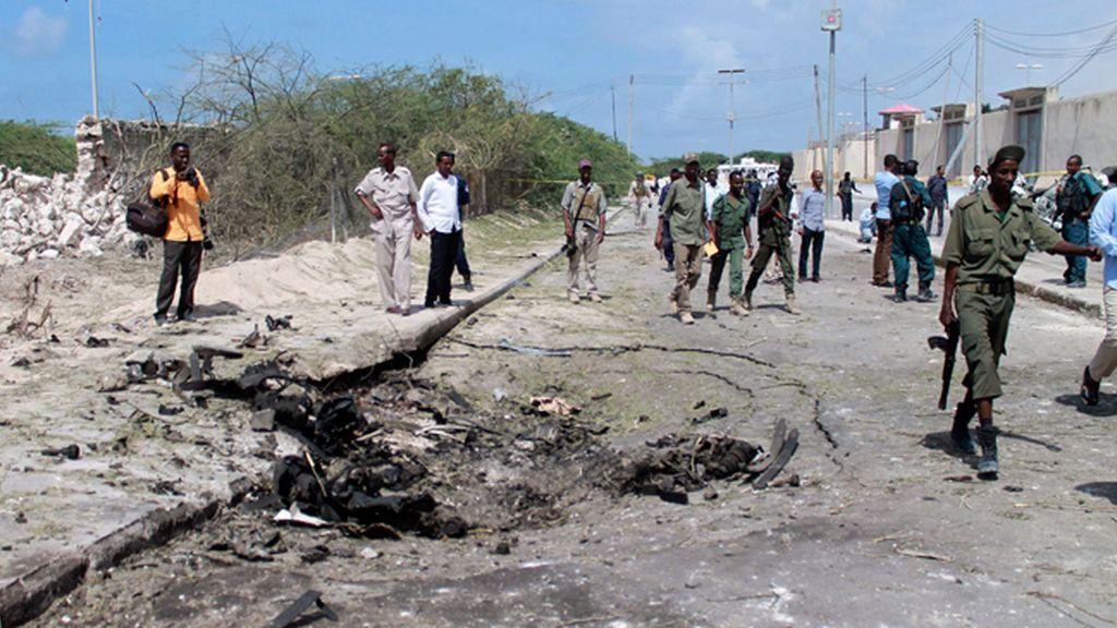 Atentado suicida en las inmediaciones del aeropuerto de Mogadiscio