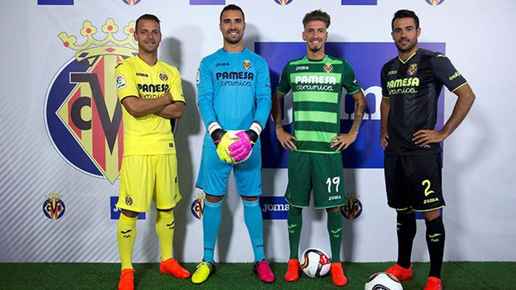 Equipación del Villareal en la temporada 2016/2017