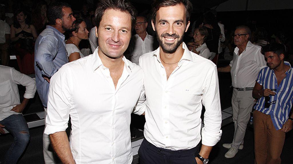 Fernando Andina y Enrique Solís