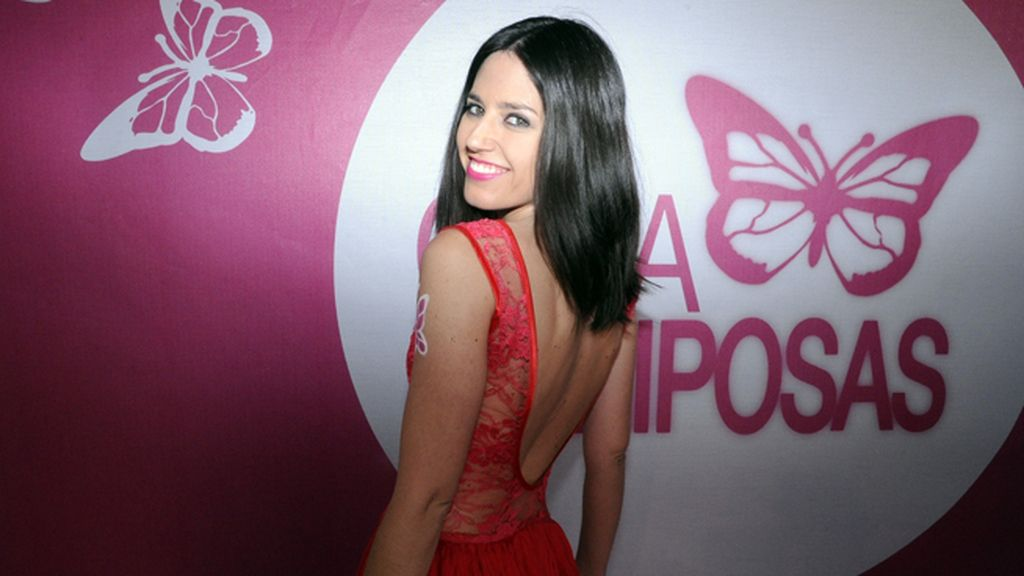 """La presentadora Nuria Marín no quisó dejar de hacer un """"pataky"""" para nuestra cámara"""