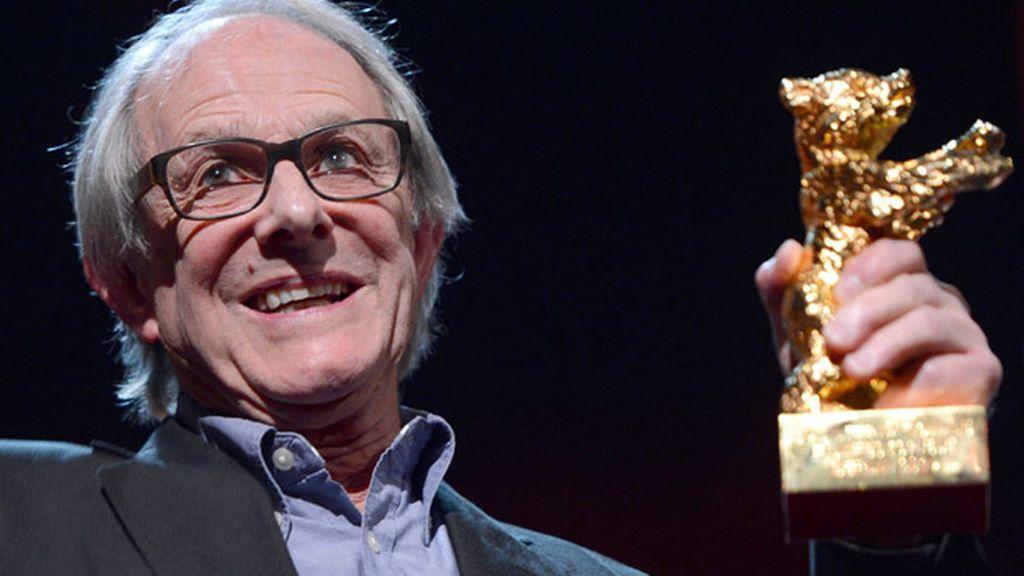 Ken Loach recibió el Oso de Oro en el Festival de cine de Berlín