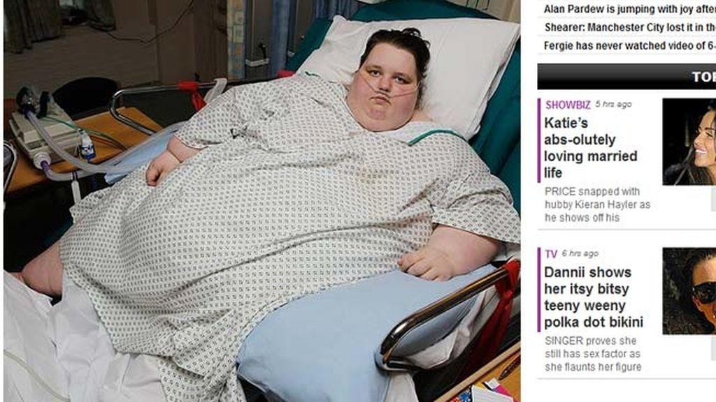 La adolescente de 300 kilos, entre la vida y la muerte