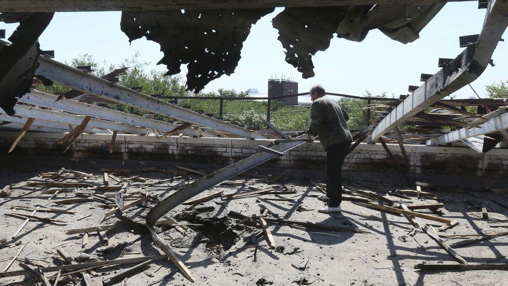 Ataque ucraniano a Donetsk
