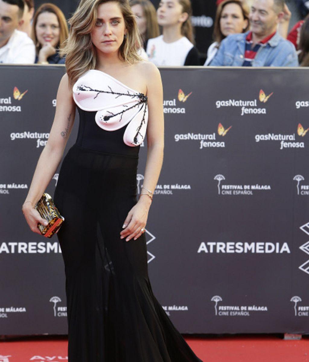 María León se atreve con las transparencias en el Festival de Málaga