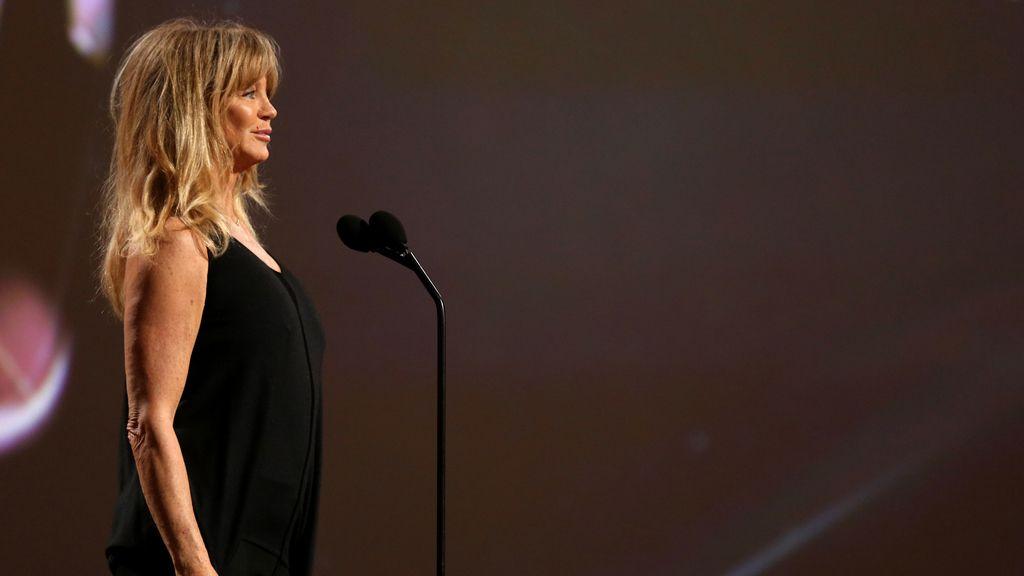 La actriz Goldie Hawn también participará en la entrega