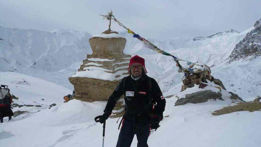 Jesús Calleja en Zanskar