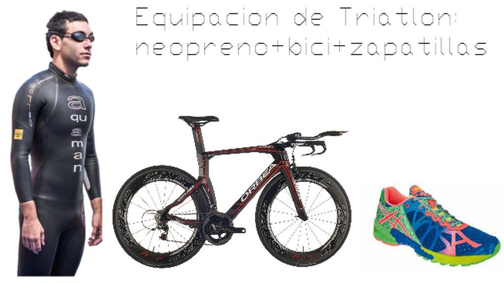 Equipación Triatlon