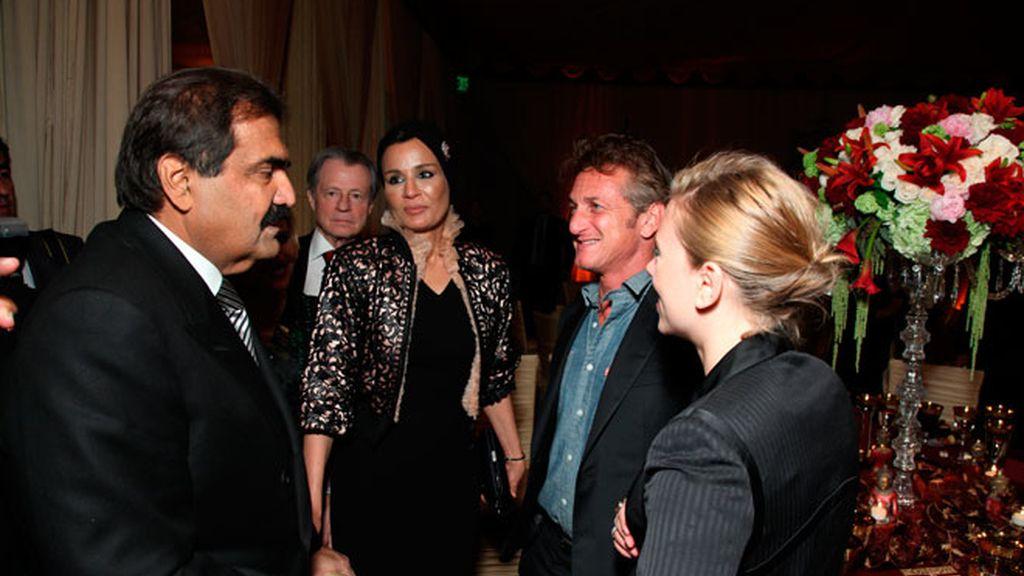 Scarlett Johansson y Sean Penn, juntos de cena