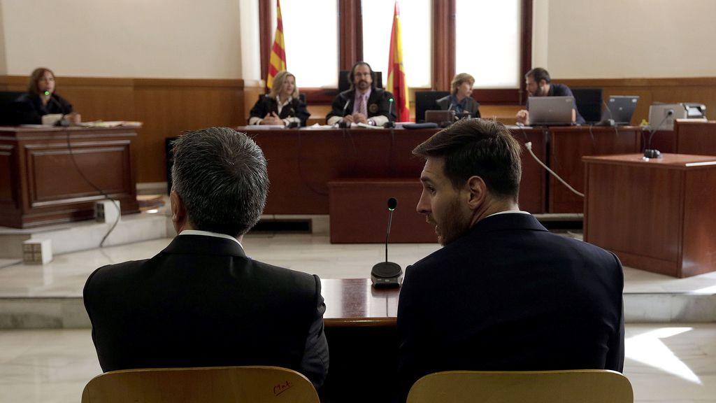 Messi declara ante el juez por presunto delito fiscal