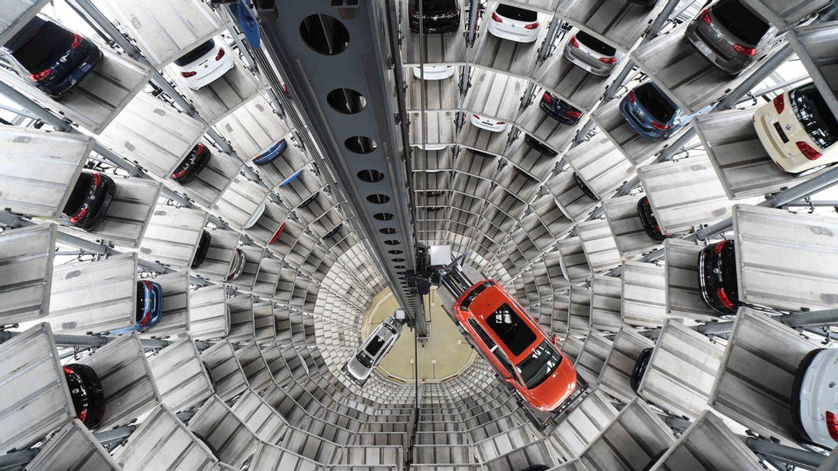 Muestran el interior de la planta de Volkswagen en Alemania