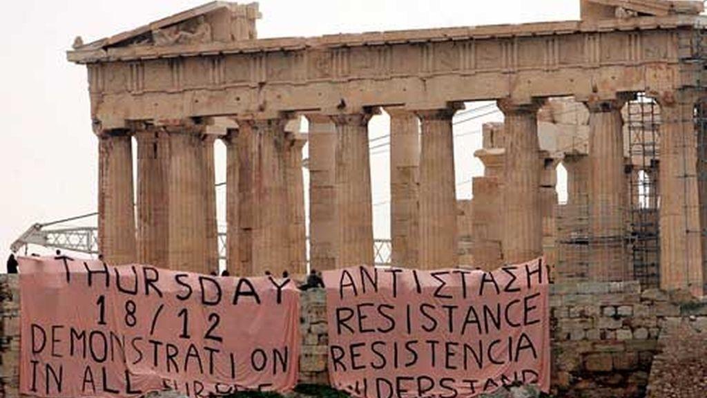 MÁS VIOLENCIA EN GRECIA