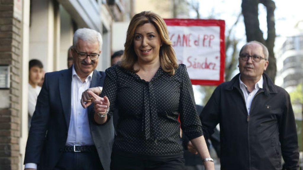 Susana Díaz  Comité Federal del PSOE