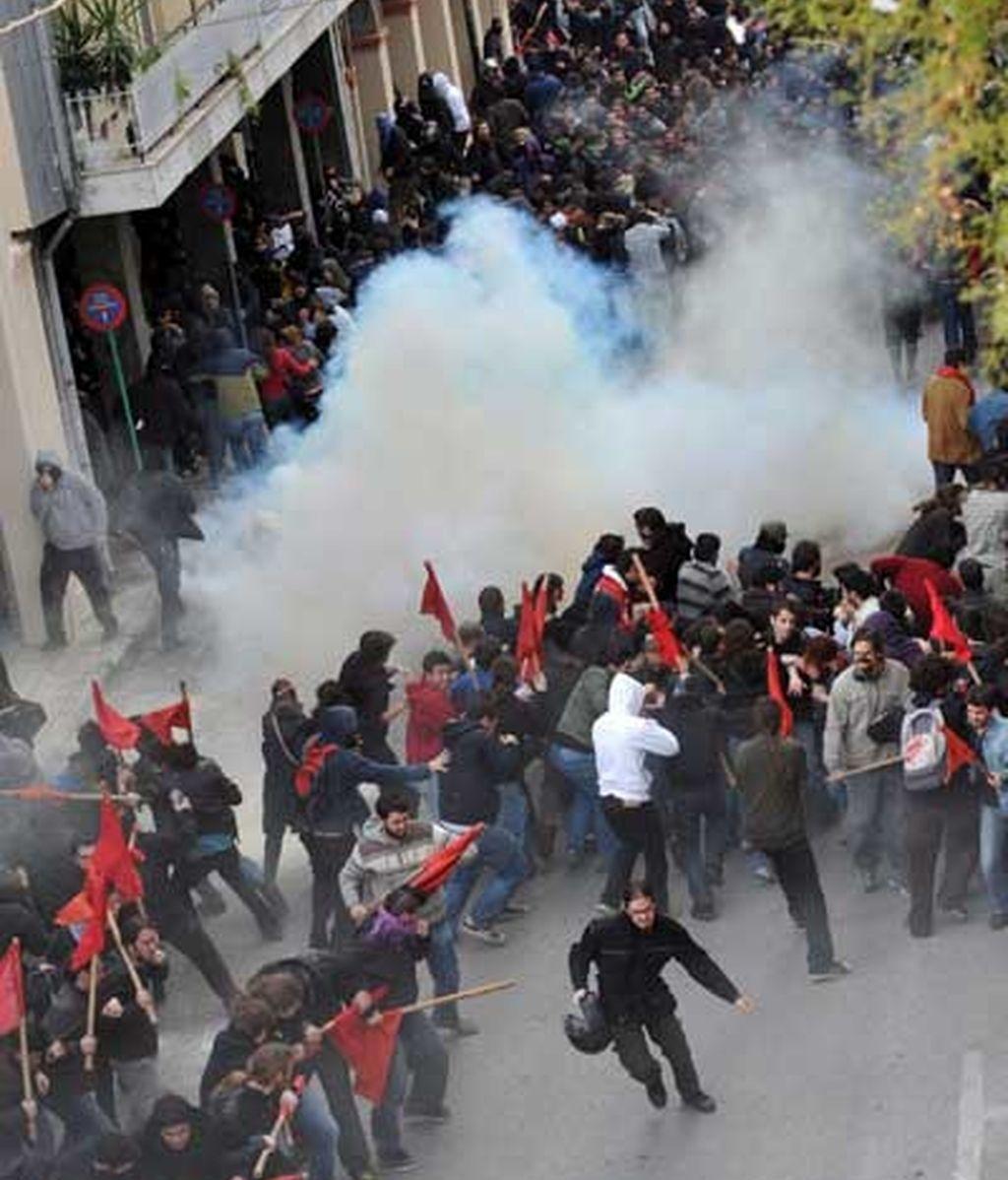 Disturbios en Grecia