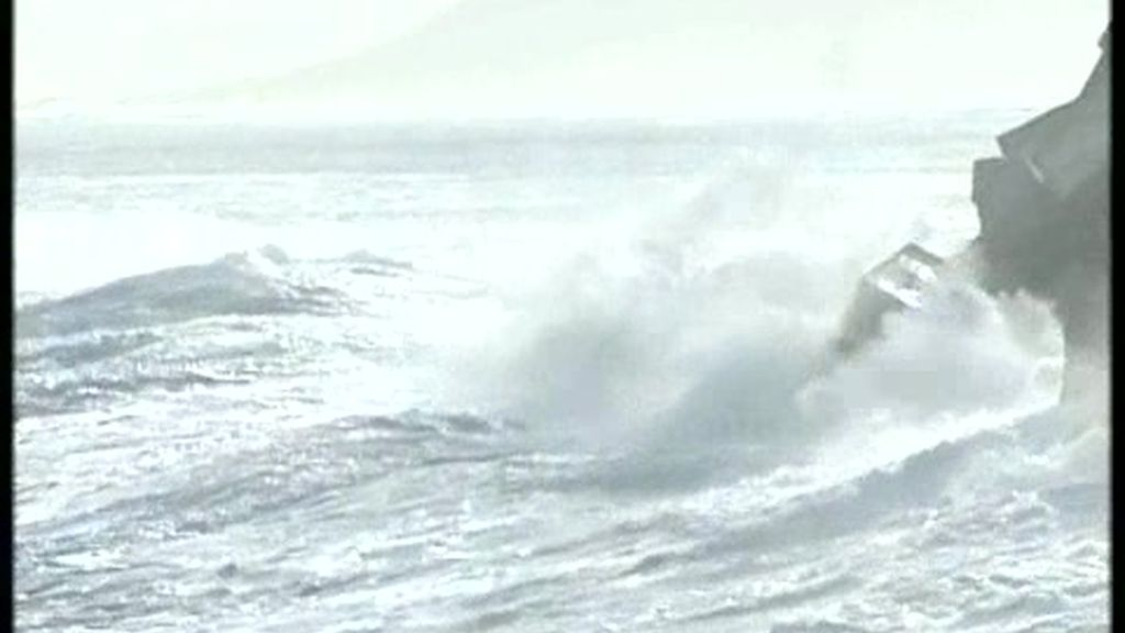 El temporal en Galicia