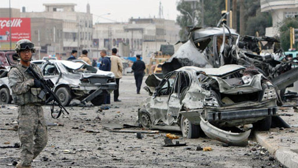 Un atentado contra el Ministerio del Interior de Irak causa 17 muertos