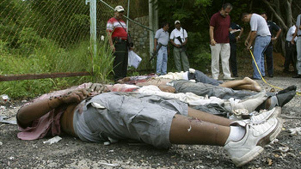 Hallan cinco cadáveres en el estado mexicano de Acapulco
